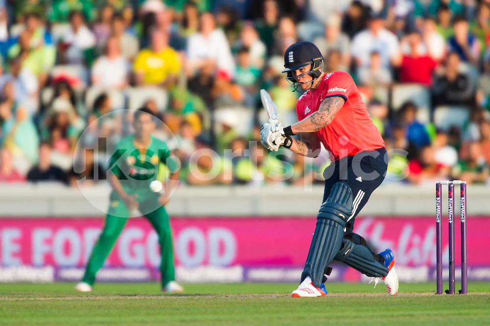 Jason Roy of England in action during the NatWest International T20 match between England and Pakistan at Emirates Old Trafford, Manchester, England on 7 September 2016. Photo by Brandon Griffiths.