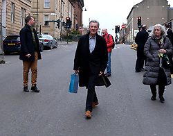 "Glasgow Film Festival, Sunday 3rd March 2019<br /> <br /> UK Premiere of ""Final Ascent""<br /> <br /> Pictured: Sir Michael Palin goes for a walk in Glasgow after the showing of his film.<br /> <br /> Alex Todd 