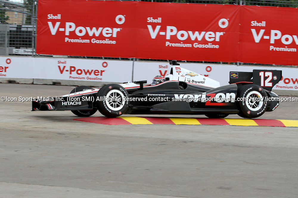 June 27, 2014: Will Power during practice for the IndyCar Series Grand Prix of Houston at MD Anderson Cancer Center Speedway in Houston, TX.