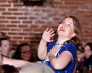 "Heather Gorby during Mayhem & Mystery's production of ""Tragedy in the Theater"" at the Spaghetti Warehouse in downtown Dayton, Monday, February 28, 2011."