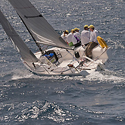 Regardless, Richard Archer's Melges 24 - the smallest boat in Antigua Sailing Week