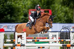 REID Chloe (USA), SALLY 643<br /> Münster - Turnier der Sieger 2019<br /> Preis des EINRICHTUNGSHAUS OSTERMANN, WITTEN<br /> CSI4* - Int. Jumping competition  (1.45 m) - <br /> 1. Qualifikation Mittlere Tour<br /> Medium Tour<br /> 02. August 2019<br /> © www.sportfotos-lafrentz.de/Stefan Lafrentz