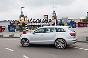 Audi Q7 in front of German Legoland.