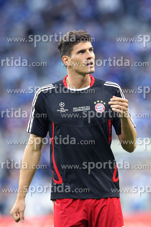 19.05.2012, Allianz Arena, Muenchen, GER, UEFA CL, Finale, FC Bayern Muenchen (GER) vs FC Chelsea (ENG), im Bild Mario GOMEZ (Bayern Muenchen) // during the Final Match of the UEFA Championsleague between FC Bayern Munich (GER) vs Chelsea FC (ENG) at the Allianz Arena, Munich, Germany on 2012/05/19. EXPA Pictures © 2012, PhotoCredit: EXPA/ Eibner/ Eckhard Eibner..***** ATTENTION - OUT OF GER *****