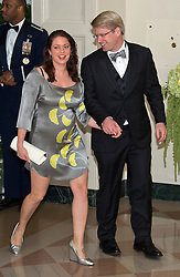 Ian Simmons, Co-Founder & Principal, Blue Haven Initiative and Liesel Simmons arrive for the State Dinner in honor of Prime Minister Trudeau and Mrs. Sophie Grégoire Trudeau of Canada at the White House in Washington, DC on Thursday, March 10, 2016. EXPA Pictures © 2016, PhotoCredit: EXPA/ Photoshot/ Ron Sachs<br /> <br /> *****ATTENTION - for AUT, SLO, CRO, SRB, BIH, MAZ, SUI only*****