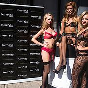 NLD/Amsterdam/20130905 - Lancering lingerielijn Pretty Wild, modellen