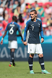 June 16, 2018 - Kazan, U.S. - KAZAN, RUSSIA - JUNE 16: forward Antoine Griezmann of France during a Group C 2018 FIFA World Cup soccer match between France and Australia on June 16, 2018, at the Kazan Arena in Kazan, Russia. (Photo by Anatoliy Medved/Icon Sportswire) (Credit Image: © Anatoliy Medved/Icon SMI via ZUMA Press)