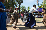 On September 24th 2017 the Afro-Sri Lankan community celebrated their 500 year anniversary since the first African ancestors were brought to Sri Lanka by the Portuguese. The event included acting on the stage and singing and dancing watched by hundreds of local people from Puttalam town.<br /> <br /> Out of all communities of African diaspora that surround the Indian Ocean those of Sri Lanka are by far the smallest and most fragile, first brought by the Portuguese, the Dutch and eventually the British as slaves.<br /> <br /> After the Abolition of the Slave Trade Act was passed in the British Parliament in 1807, the process of putting an end to slavery began in British controlled countries. On being emancipated most Africans stayed and a century ago the Afro-Sri Lankan population was believed to be around 6000 people. Today that number has dwindled to less than 500 and are likely to totally disappear in a few generations.
