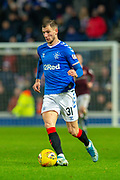 Borna Barisic (#31) of Rangers FC during the Ladbrokes Scottish Premiership match between Rangers FC and Heart of Midlothian FC at Ibrox Park, Glasgow, Scotland on 1 December 2019.