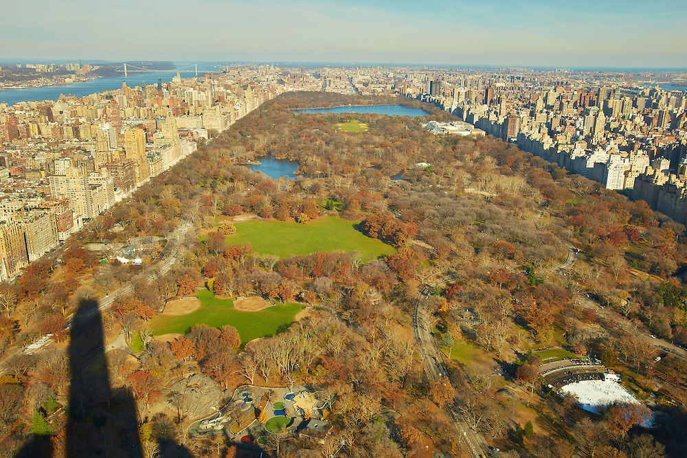 View of Central Park from 157 West 57th Street, 81st floor