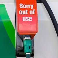 EDINBURGH APRIL 26 - Several petrol stations are running out of petrol ahead of the announced strike at the only oil refinery in Scoltand and despite the Scottish Government announce that there will be no shortage...© Marco Secchi/ www.marcosecchi.com.Tel 0845 0506211  - 0771 7298571.studio@sitheanphoto.com.NUJ recommended terms & conditions apply. Moral rights asserted under Copyright Designs & Patents Act 1988. .Credit is required. .No part of this photo to be stored, reproduced, manipulated or transmitted by any means without permission...COPYRIGHT NOTICE.© Marco Secchi/ www.marcosecchi.com..COUNTRY.UK GBR826..CREDIT.© Marco Secchi/www.marcosecchi.com