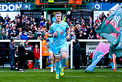 GJ van Velze of Worcester Warriors leads his side out at Leicester Tigers - Mandatory by-line: Robbie Stephenson/JMP - 03/11/2018 - RUGBY - Welford Road Stadium - Leicester, England - Leicester Tigers v Worcester Warriors - Gallagher Premiership Rugby