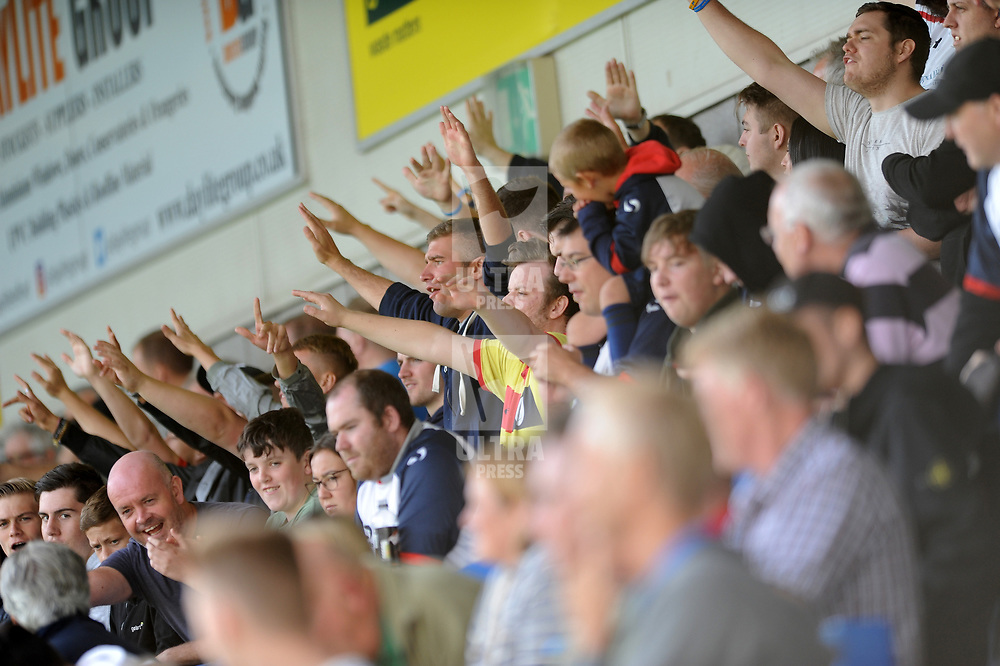 TELFORD COPYRIGHT MIKE SHERIDAN 25/8/2018 - Telford fans during the Vanarama Conference North fixture between AFC Telford United and Chester City.