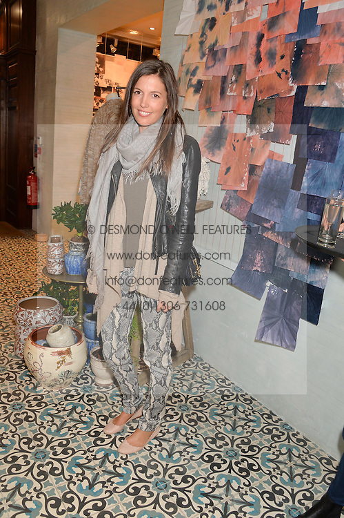 AMANDA FERRY at a party to celebrate the publication of 'Inspire: The Art of Living With Nature' by Willow Crossley held at Anthropologie, 131-141 Kings Road, London on 13th March 2014.