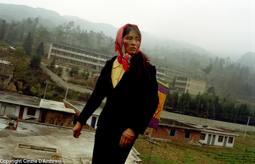 The Miao people in Guizho region, south-west China. The Miao is one of the 55 recognized minority group in China.