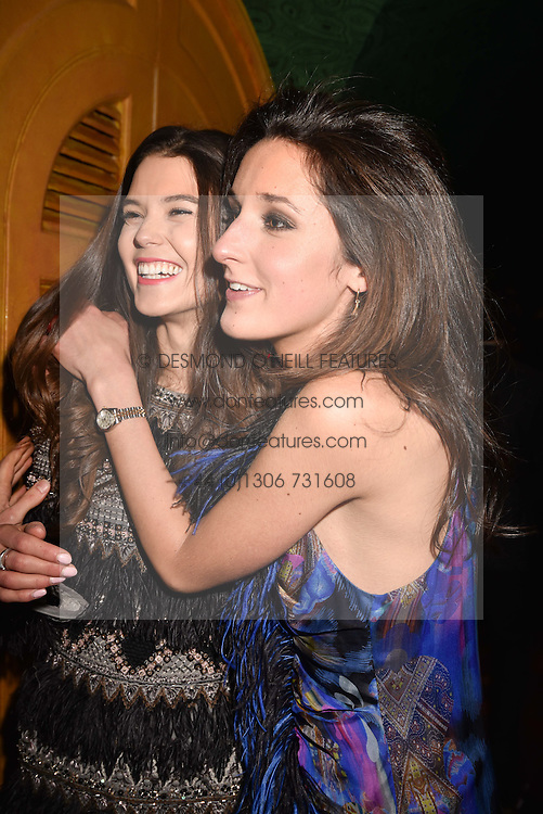 Left to right, Sarah Ann Macklin and Rosanna Falconer at the Annabel's Bright Young Things Party held at Annabel's, 44 Berkeley Square, London England. 16 February 2017.