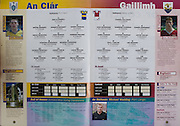 All Ireland Senior Hurling Championship - Final, .14.09.1997, 09.14.1997, 14th September 1997, .14091997AISHCF,.Senior Clare v Tipperary .Tipperary 2-16, Wexford 0-15,.Minor Clare v Galway, ..Clare, 1 Ger O'Connell, Broadford, 2 Wayne Kennedy, Parteen, 3 Kenneth Kennedy, St Joseph's Doora Barefield, 4 Danny Duggan, O'Callagahans Mills, 5 Brian McMahon, B Mac Mathuna, Newmarket on Fergus, 6 John Reddan Captain, Sixmilebridge, 7 Gordon Malone, Whitegate, 8 Stiofain Fitzpatrick, Sixmilebridge, 9 Gearoid Considine, Cratloe, 10 Patrick Moroney, Scariff, 11 Conor Earlie, Tubber, 12 Colm Mullen, St Josephs Doora Barefield, 13 Mark Lennon, Wolfe Tones, 14 Donal Madden, Tulla, 15 Brian McMahon, Kilmaley, subs, Martin Brooks, Paul Collins, Ronan Cooney, Joe O'Meara, Eric Minogue, John O'Meara, Dara O'Driscoll, David Considine, Brendan McMahon, ..Galway, 1 Ciaran Callanan, Ardrahan, 2 Eoin McDonagh, Ballindereen, 3 Diarmuid Cloonan, Athenry, 4 Eamon Donoghue, Mullagh, 5 Jamie Cannon, Clarenbridge, 6 Stephen Morgan, Loughrea, 7 Anton Walsh, Castlegar, 8 Niall Lawlor, Turloughmore, 9 Joe Hession, Turloughmore, 10 David Donohue, Athenry, 11 David Tierney, Kilnadeema Leirtum, 12 Garry Hurney, Turloughmore, 13 Ollie Deeley, Fohenagh, 14 Keith Hayes, Portumna, 15 Cathal Coen, Clarenbridge, subs, Paul Gavin, Shane Donohue, Eamon Hyland, Gavin Keary, David Huban, Keith Daniels, Brian Cunningham, Ronan Leonard, David Smyth,