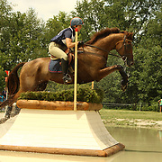 Allison Springer and Arthur at the 2007 Maui Jim Horse Trials in Wayne, Illinois