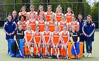 NIJMEGEN - Teamfoto Nederlands Meisjes A. FOTO KOEN SUYK