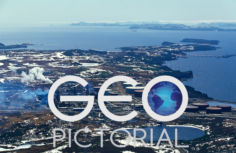 Provincial Airlines Special Missions: Pollution Patrol Canada Department of Fisheries and Oceans; .Pollution patrol overflies the Come-By-Chance oil refinery in Newfoundland.
