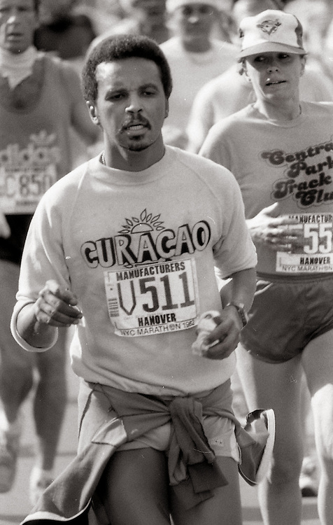 NYC Marathon, 1982.