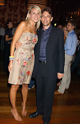 Actor DOUGRAY SCOTT  and CLARE STAPLES at a party to celebrate the publication of 'Everything I Know About Men I Learnt From My Dog' by Clare Staples held at Fifty, St.James's, London on 7th September 2005.<br /><br />NON EXCLUSIVE - WORLD RIGHTS