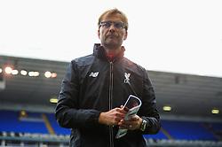 Jurgen Klopp takes charge of his first Liverpool game against Tottenham Hotspur at White Hart Lane. - Mandatory byline: Dougie Allward/JMP - 07966 386802 - 17/10/2015 - FOOTBALL - White Hart Lane - London, England - Tottenham Hotspur v Liverpool - Barclays Premier League