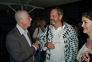 JOHN HURT; TERRY GILLIAM, Film 4 Summer Screen at Somerset House. guillermo del Toro's Hellboy 11: The Golden Army. 31 July 2008. *** Local Caption *** -DO NOT ARCHIVE-© Copyright Photograph by Dafydd Jones. 248 Clapham Rd. London SW9 0PZ. Tel 0207 820 0771. www.dafjones.com.