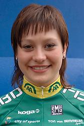 08-03-2006 WIELRENNEN: TEAMPRESENTATIE AA CYCLINGTEAM: ALPHEN AAN DE RIJN<br /> Roxane Knetemann<br /> Copyrights: WWW.FOTOHOOGENDOORN.NL