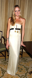 LADY ELOISE ANSON at a dinner hosed by Moet & Chandon at their headquarters at 13 Grosvenor Crescent, London on 12th October 2005.<br /><br />NON EXCLUSIVE - WORLD RIGHTS