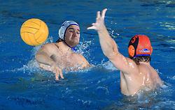 Rok Crnica  at water polo match in Adriatic league between VK Rokava Koper and Budvanska Rivijera, on December 6, 2008 in Pool Zusterna, Koper, Slovenia. Budvanska Rivijera won 16:10. (Photo by Vid Ponikvar / Sportida)