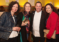 Laura Guilfoyle, Mary Ward and Neve Maguire and Mary Conole at the Cookery demonstration with Chef Neven Maguire and Artisan Food Fair in aid of Seamount College  at the Lady Gregory Hotel Gort, Co. Galway.<br /> Photo:Andrew Downes, xposure.