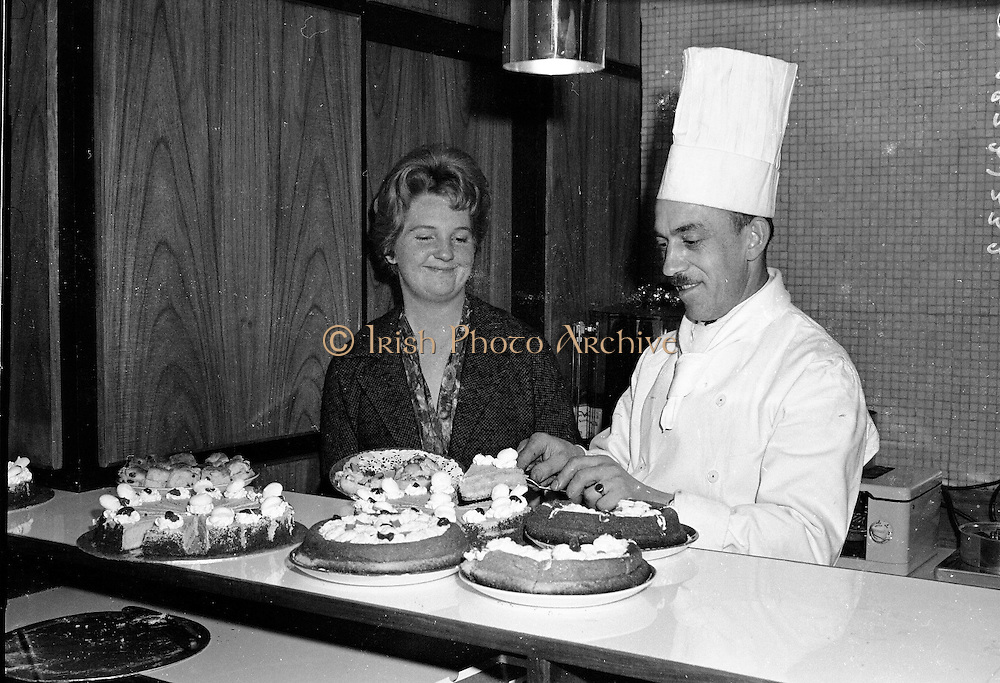 The opening of a new restaurant at Brown Thomas, Grafton Street 10th may, 1961