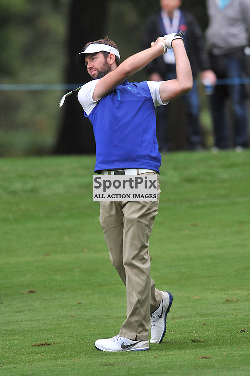 Scott Jamieson Scotland,  British Masters, European Tour, Woburn Golf Course Friday 9th October 2015.