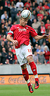 Hull Saturday september 18th, 2010:  Paul McKenna of Nottingham Forrest during the NPower Championship Match at the KC Stadium,Hull. (Pic by Darren Walker/Focus Images)..
