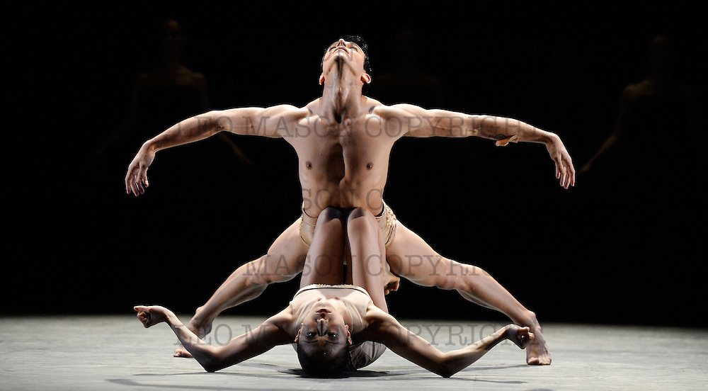 17.04.2013 English National Ballet dancing Ecstasy &amp; Death at the London Coliseum UK<br /> Petite Mort performed by Artists of the Company