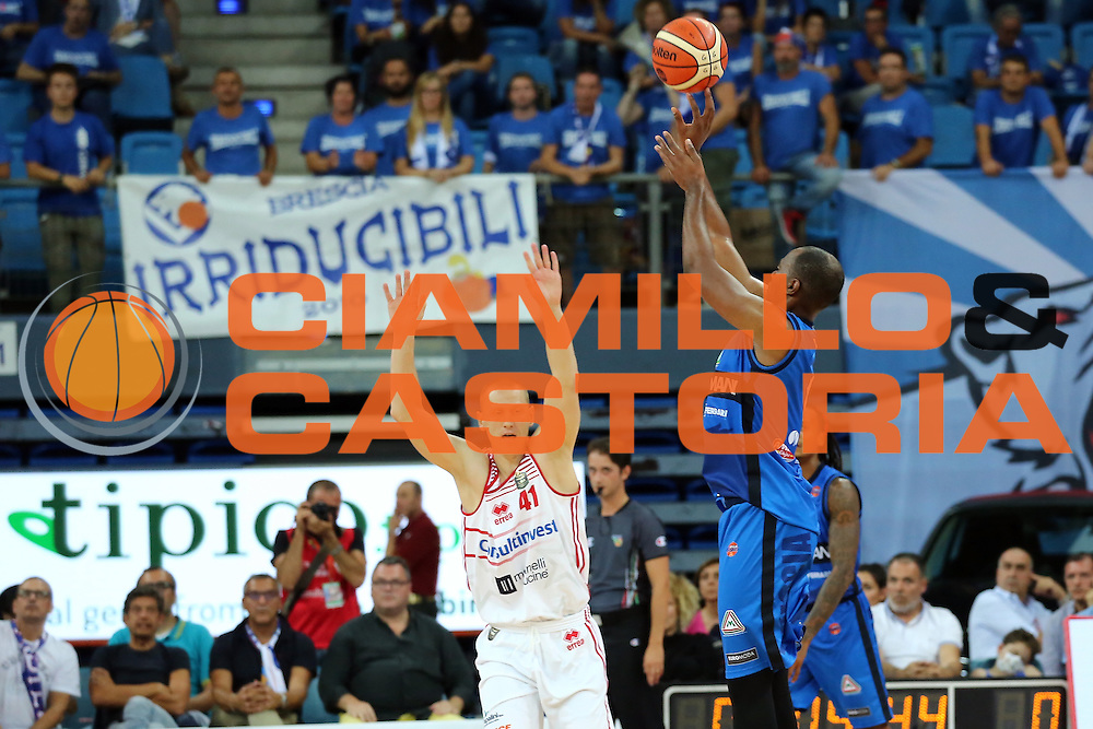Landry Marcus<br /> Consultinvest VL Pesaro - Germani Basket Brescia<br /> Lega BasketSerie A 2016/2017<br /> Pesaro 02/10/2016