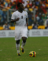 Photo: Steve Bond/Richard Lane Photography.<br /> Ghana v Nigeria. Africa Cup of Nations. 03/02/2008. Michael Essien moves forward with the ball