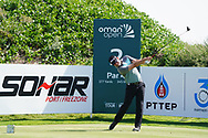 Paul Waring (ENG) on the 2nd during Round 2 of the Oman Open 2020 at the Al Mouj Golf Club, Muscat, Oman . 28/02/2020<br /> Picture: Golffile | Thos Caffrey<br /> <br /> <br /> All photo usage must carry mandatory copyright credit (© Golffile | Thos Caffrey)