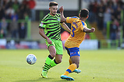 Forest Green Rovers Liam Shephard(2) during the EFL Sky Bet League 2 match between Forest Green Rovers and Mansfield Town at the New Lawn, Forest Green, United Kingdom on 19 October 2019.