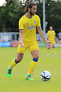 AFC Wimbledon midfielder Dan Gallagher (25) during the Pre-Season Friendly match between Margate and AFC Wimbledon at Hartsdown Park, Margate, United Kingdom on 16 July 2016. Photo by Stuart Butcher.