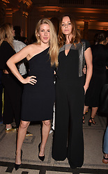 Left to right, Ellie Goulding and Stella McCartney at Fashioned From Nature held at The V&A Museum, London, England. 18 April 2018.
