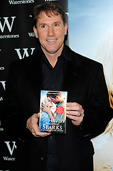 Nicholas Sparks during An Evening with Nicholas Sparks, Waterstones, London, UK, February 20, 2013.  Photo by Chris Joseph / i-Images.