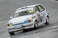#48 Tony Mumford Ford Fiesta XR2 during Lee Bowron Ltd XR Challenge - Qualifiying  as part of the Easter Family Fun Day - Oulton Park Fosters at Oulton Park, Little Budworth, Cheshire, United Kingdom. March 28 2016. World Copyright Peter Taylor/PSP. Copy of publication required for printed pictures.  Every used picture is fee-liable. http://archive.petertaylor-photographic.co.uk
