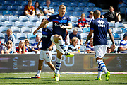QPR Defender Jake Bidwell (3) warms up before kick off during the EFL Sky Bet Championship match between Queens Park Rangers and Reading at the Loftus Road Stadium, London, England on 5 August 2017. Photo by Andy Walter.