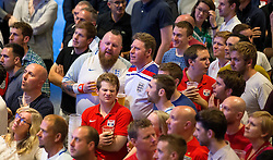 Fans watch the game between England and Russia in the Sports Bar and Grill at Ashton Gate- Mandatory by-line: Robbie Stephenson/JMP - 11/06/2016 - FOOTBALL - Ashton Gate - Bristol, United Kingdom  - England vs Russia - UEFA Euro 2016