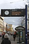 Mannheim. 01.03.17 | BILD- ID 065 |<br /> Innenstadt. Plankenumbau. Auswirkungen auf den Stra&szlig;enbahnverkehr. <br /> Bild: Markus Prosswitz 01MAR17 / masterpress (Bild ist honorarpflichtig - No Model Release!)