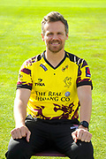 Nat West T20 Blask kit portrait of James Hildreth during the Somerset County Cricket Club PhotoCall 2017 at the Cooper Associates County Ground, Taunton, United Kingdom on 5 April 2017. Photo by Graham Hunt.