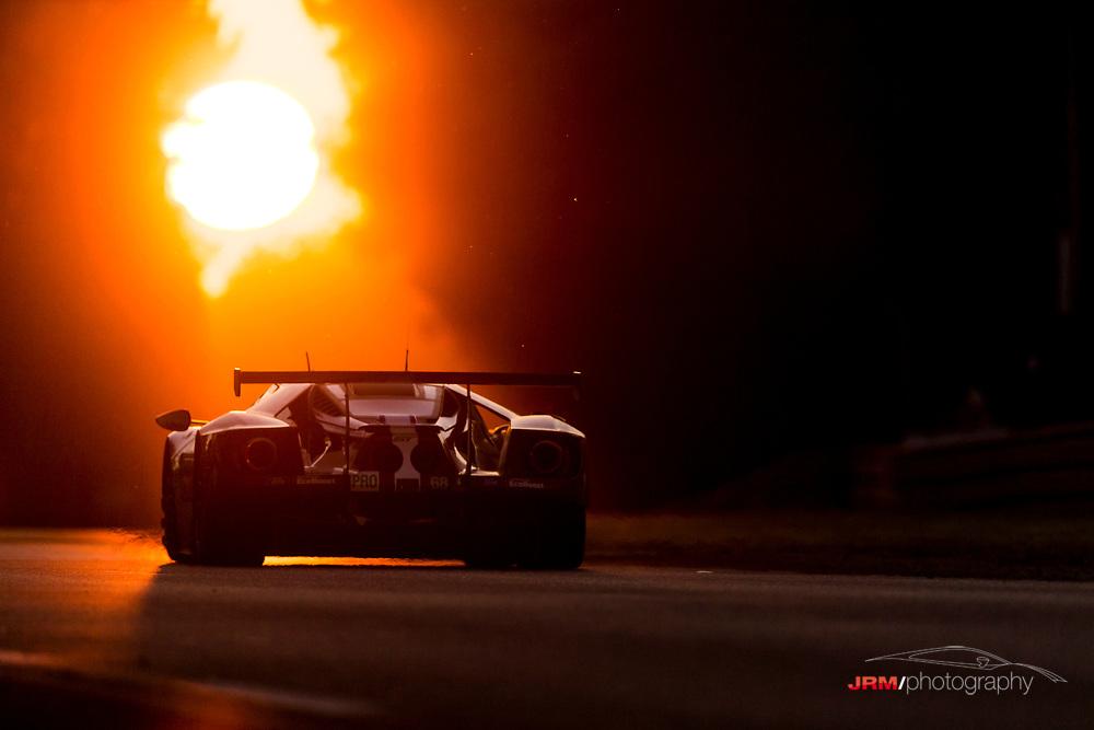 Sensational sunsets on Saturday. #LM24 @Fordperformance #FordGT #GTE #Racing #Motorsport 24 Hours of Le Mans 2017
