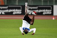 """Lo show di Usain Bolt allo stadio Olimpico<br /> Usain Bolt Jamaica 100m men winner<br /> Roma 31/5/2012 Stadio """"Olimpico""""<br /> Atletica Compeed Golden Gala 2012<br /> Track and Fields<br /> Foto Andrea Staccioli Insidefoto"""